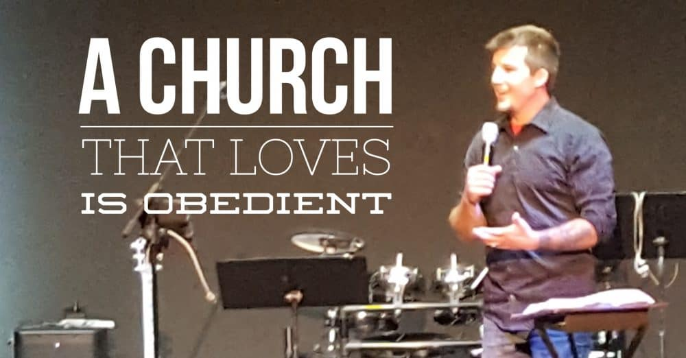 A Church that Loves is Obedient Image