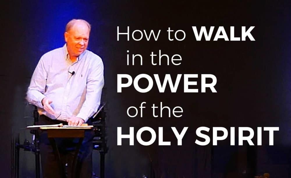 How to Walk in the Power of the Holy Spirit Image