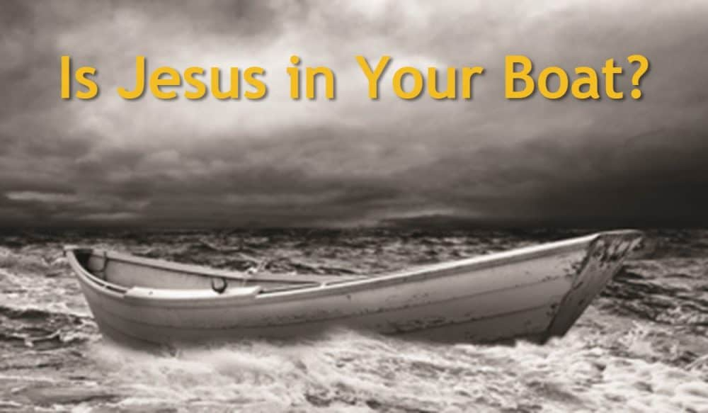 Is Jesus in Your Boat? Image
