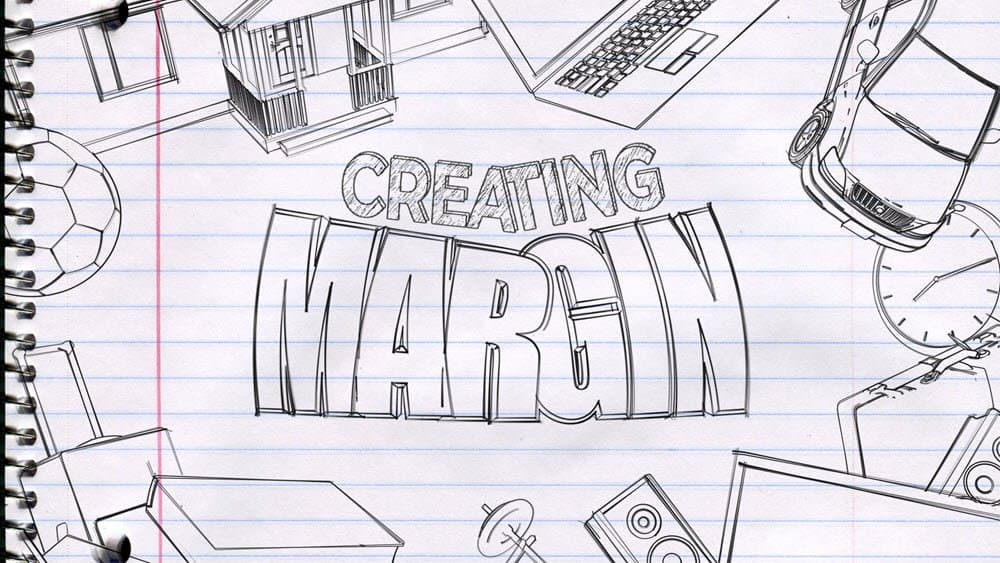 Creating Margins - Part 5 - A love affair with the world