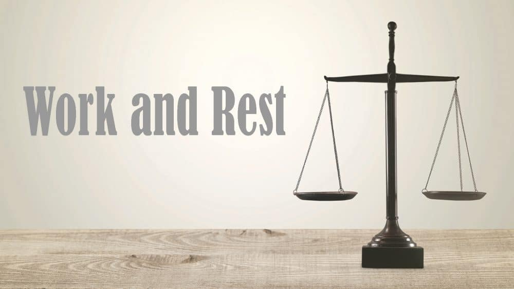 Work and Rest Image