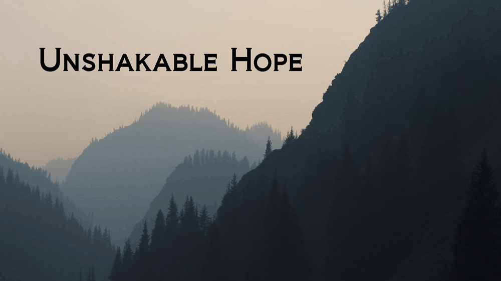 Unshakable Hope Image
