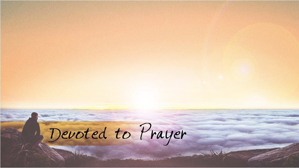 Devoted to Prayer Image