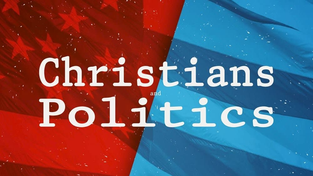 Christians and Politics Image