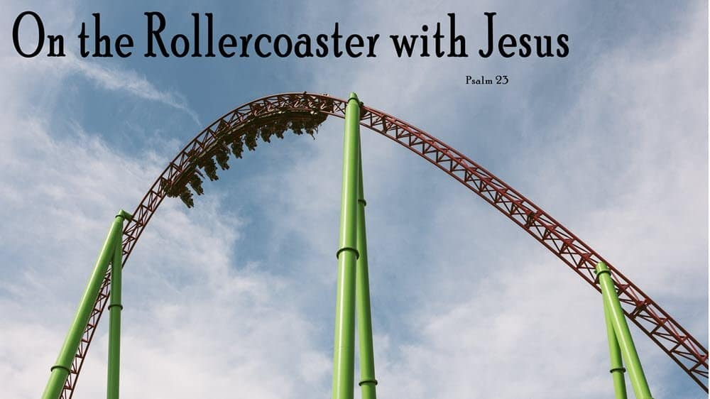 On the Roller Coaster with Jesus Image